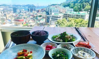 釜山の絶景カフェ『Choryang1941』で贅沢ランチタイム