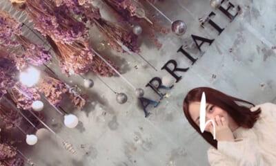 2階から4階まで一面お花だらけ!弘大のフラワーカフェ『ARRIATE』