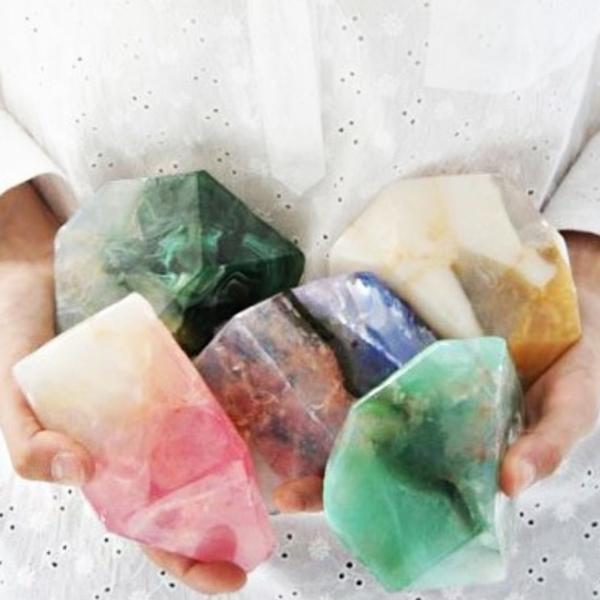 え、宝石? 韓国の手作り石鹸が可愛い