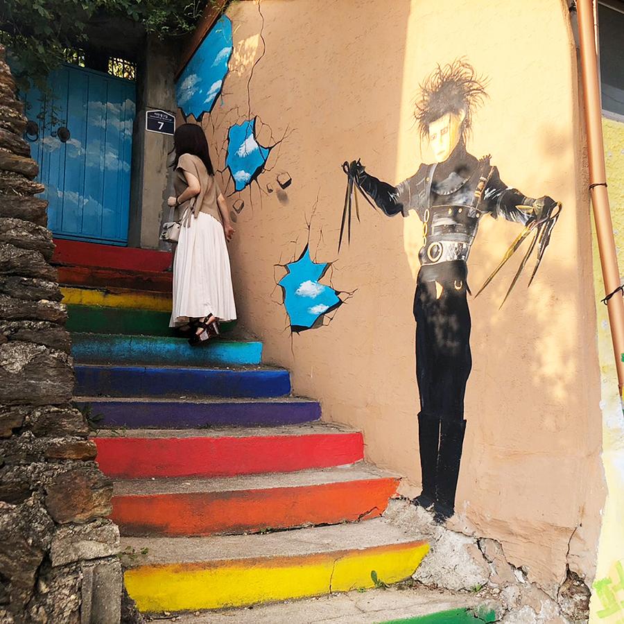 滋満(チャマン)壁画村