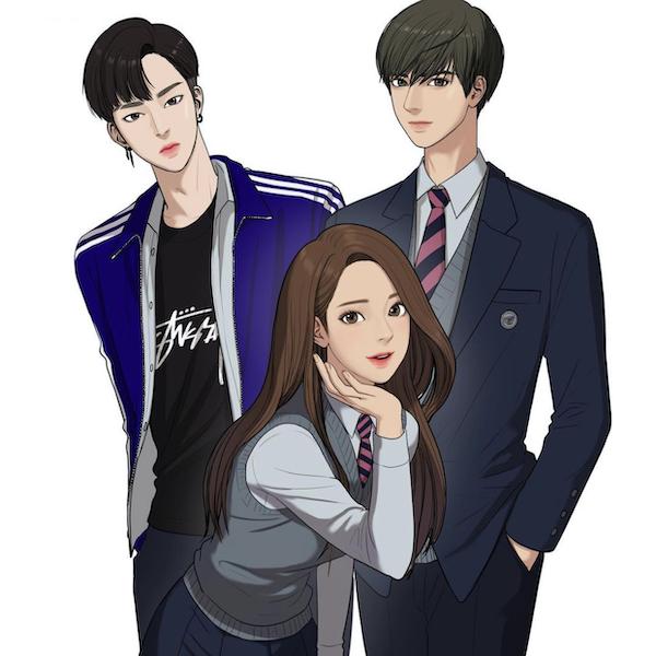 韓国ウェブ漫画 「女神降臨」